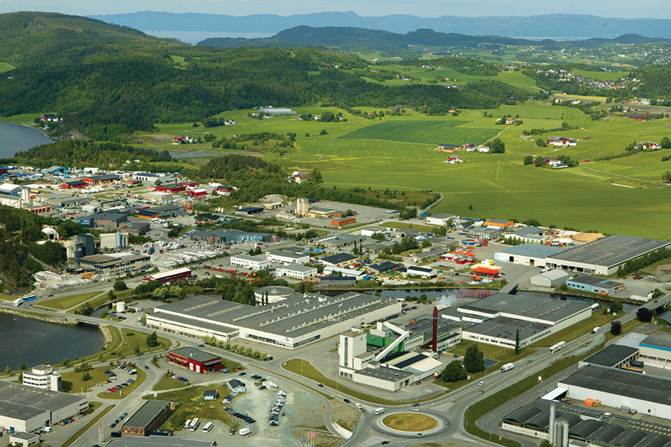 Завод по производству оборудования Nobo. Норвегия, г.Тронхейм.